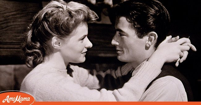 A photo of Ingrid Bergman and Gregory Peck in 'Spellbound', directed by Alfred Hitchcock, 1945   Photo: Getty Images