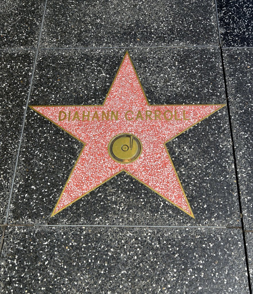 The Hollywood Walk of Fame star for the actress Diahann Carroll on October 04, 2019 in Hollywood, California. | Getty Images