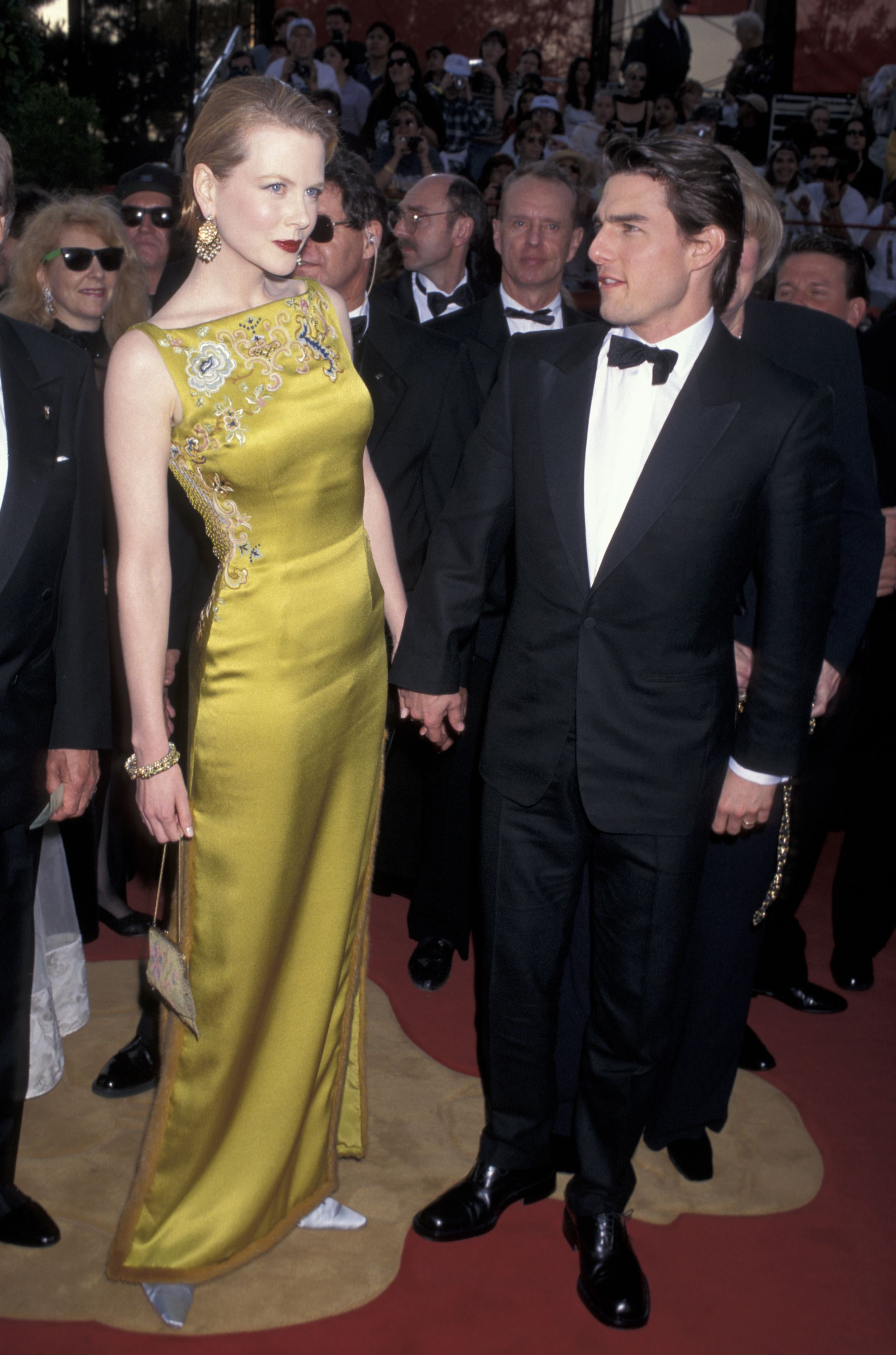 Nicole Kidman and Tom Cruise arrive at the 69th Annual Academy Awards. | Source: Getty Images
