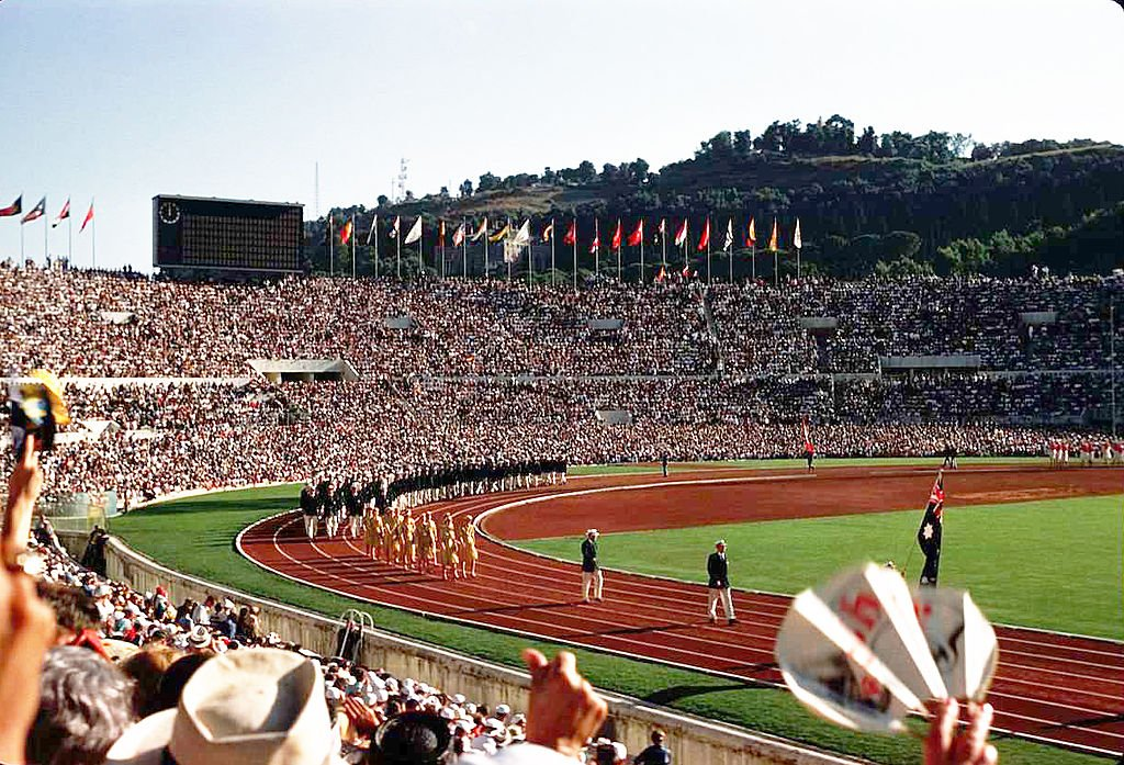 Opening day at the 1960 Summer Olympics in Rome | Source: Wikimedia Commons