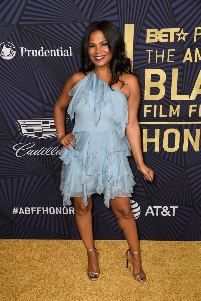 "Nia Long at BET's ""American Black Film Festival Honors"" in February 2017. 