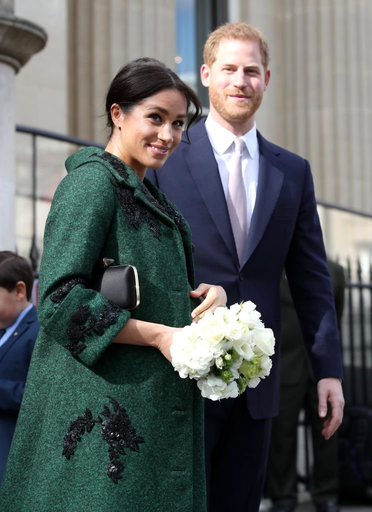 Meghan and Prince Harry departs a Commonwealth Day Youth Event at Canada House on March 11, 2019 in London, England. | Source: Getty Images.