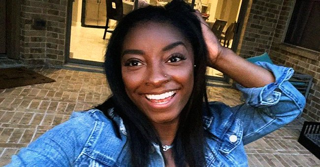 Simone Biles Rocks Pigtails & Stylish Black Ensemble in Beautiful Mirror Selfie — See Her Look