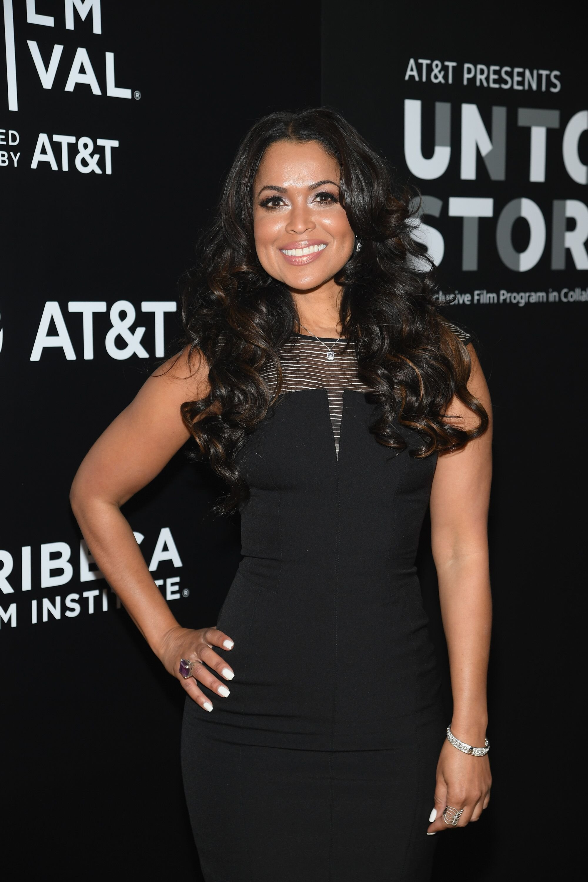 Tracey Edmonds attends as AT&T and Tribeca Host 2nd Annual Luncheon for AT&T Presents: Untold Stories. An Inclusive Film Program in Collaboration with Tribeca at Thalassa on April 11, 2018 in New York City. | Source: Getty Images