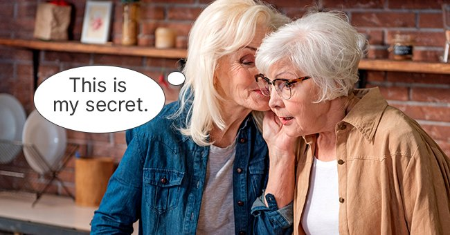 She had to know her friend's secret! | Photo: Shutterstock