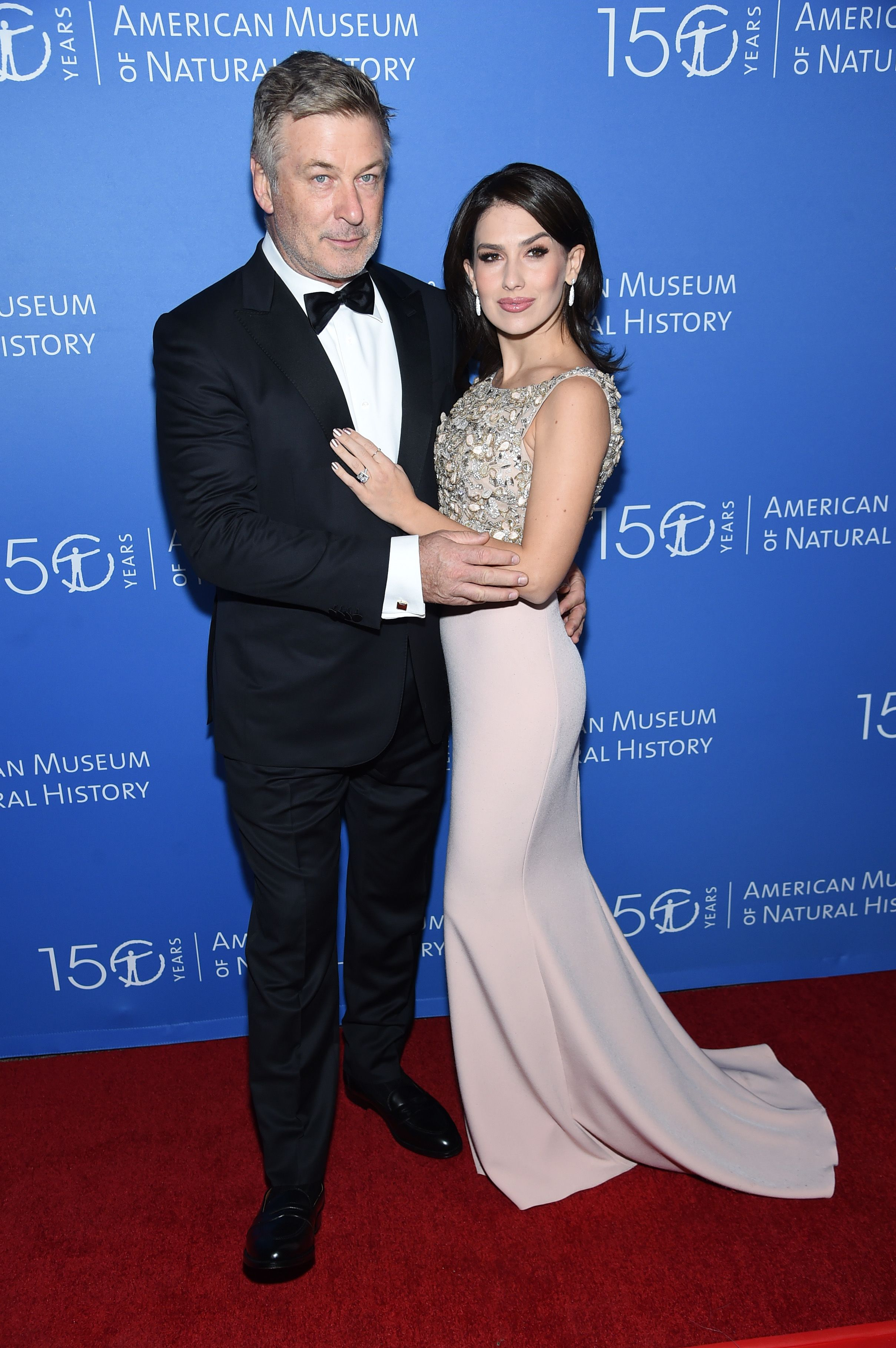 Alec and Hilaria Baldwin during the American Museum Of Natural History Gala on November 21, 2019, in New York City. | Source: Getty Images