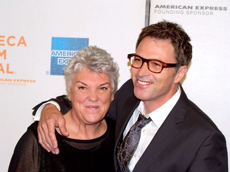 Tyne Daly and her brother Tim Daly at the 2009 Tribeca Film Festival. | Source: Wikimedia Commons
