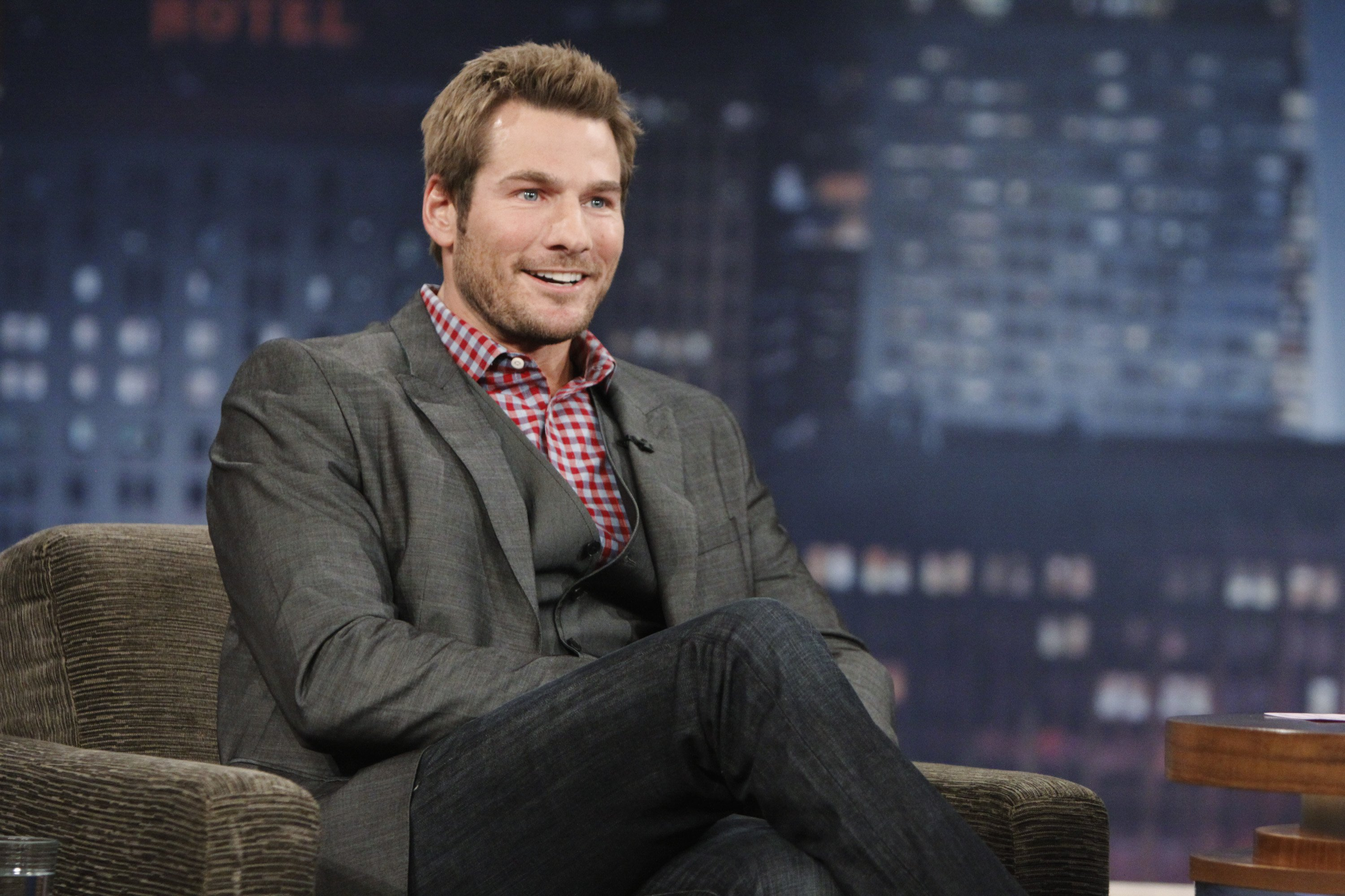 """Brad Womack from """"The Bachelor"""" at ABC's """"Jimmy Kimmel Live"""" - Season Nine,  January 03, 2011 