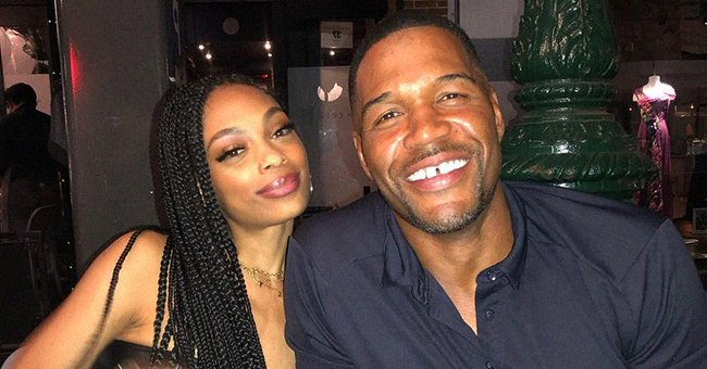 Michael Strahan Enjoys Dinner with His 'Bonus Daughter' Flaunting Long Braids in a Strapless Top In Cozy Photo
