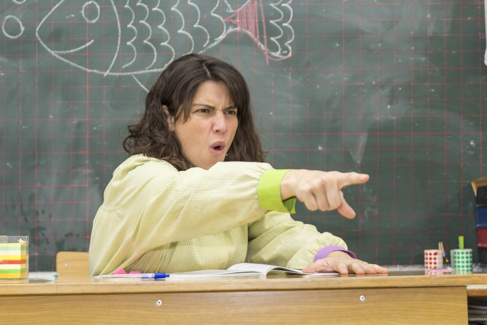 She could not believe that no student could answer her question | Photo: Shutterstock