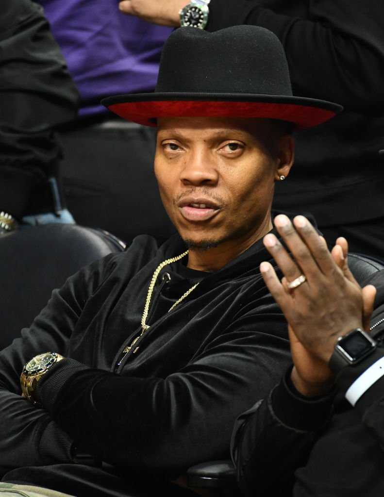 Ronnie DeVoe attends a basketball game between the Los Angeles Clippers and the Boston Celtics at Staples Center   Photo: Getty Images