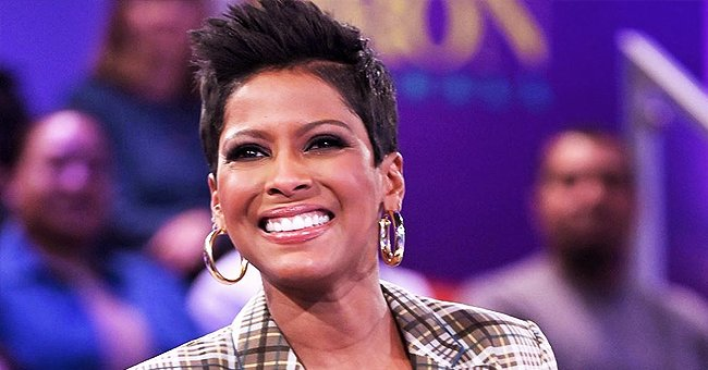 Tamron Hall Is All Smiles in Throwback Photo That Shows off Her Baby Bump at 32 Weeks Pregnant