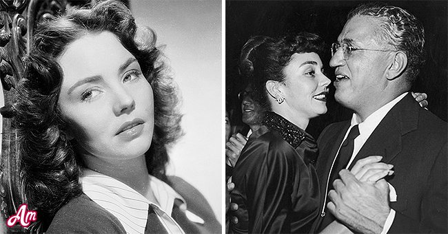 """Picture of Jennifer Jones from """"The Song of Bernadett"""" and David O. Selznick   Photo: Getty Images"""
