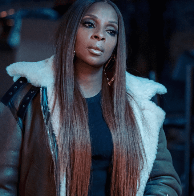 "Screenshot of still of Mary J. Blige during a scene in the television series ""Ghost"" 