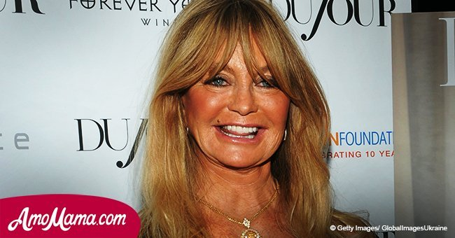 Goldie Hawn shares adorable video as she dances and sings during recent outing