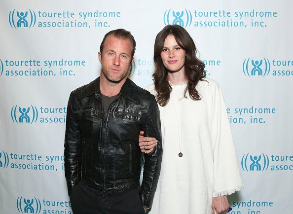 Scott Caan and his girlfriend Kacy Byxbee in Tourette Syndrome Association event. I Image: Getty Images.