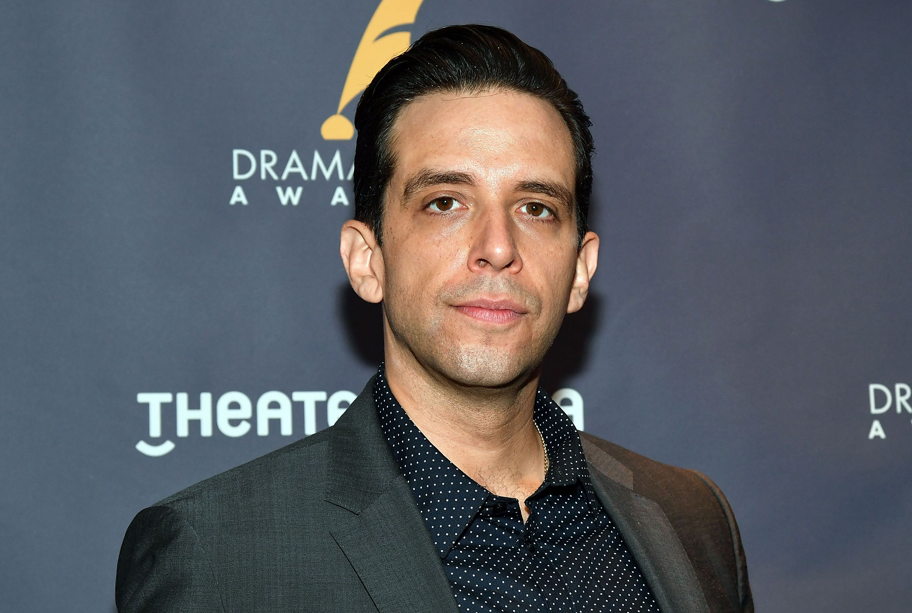Actor Nick Cordero at 2017 Drama Desk Nominees reception at Marriott Marquis Times Square on May 10, 2017 | Photo: Getty Images