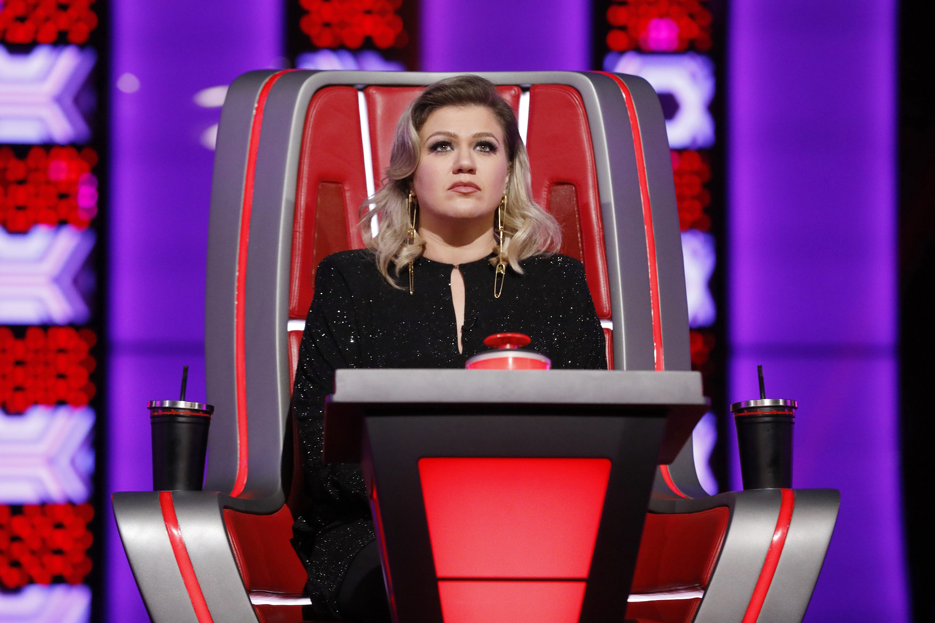 """Kelly Clarkson during the """"The Voice"""" Blind Auditions 