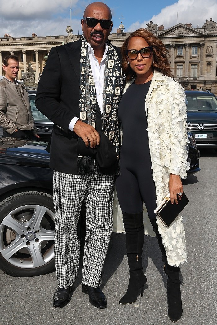 Steve Harvey and wife Marjorie Harvey I Image: Getty Images