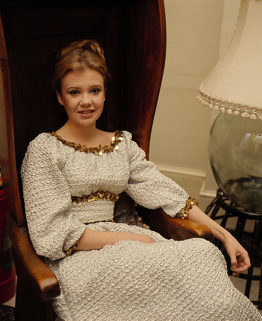 English actress Hayley Mills at the family home in Richmond, London, circa 1965. (Photo by Jeremy Fletcher/Getty Images)