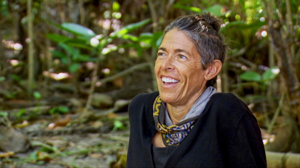 Denise Stapley on the two-hour Thirteenth episode of SURVIVOR: WINNERS AT WAR, on the CBS Television Network   Photo: Getty Images