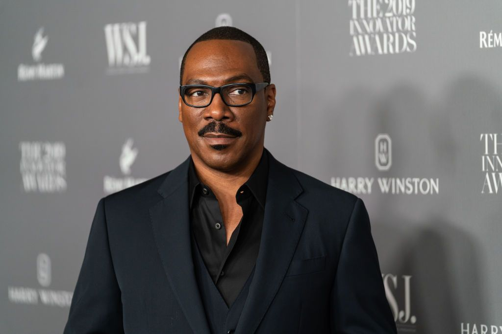 Eddie Murphy at the WSJ Mag 2019 Innovator Awards at the Museum of Modern Art on November 06, 2019 | Photo: Getty Images