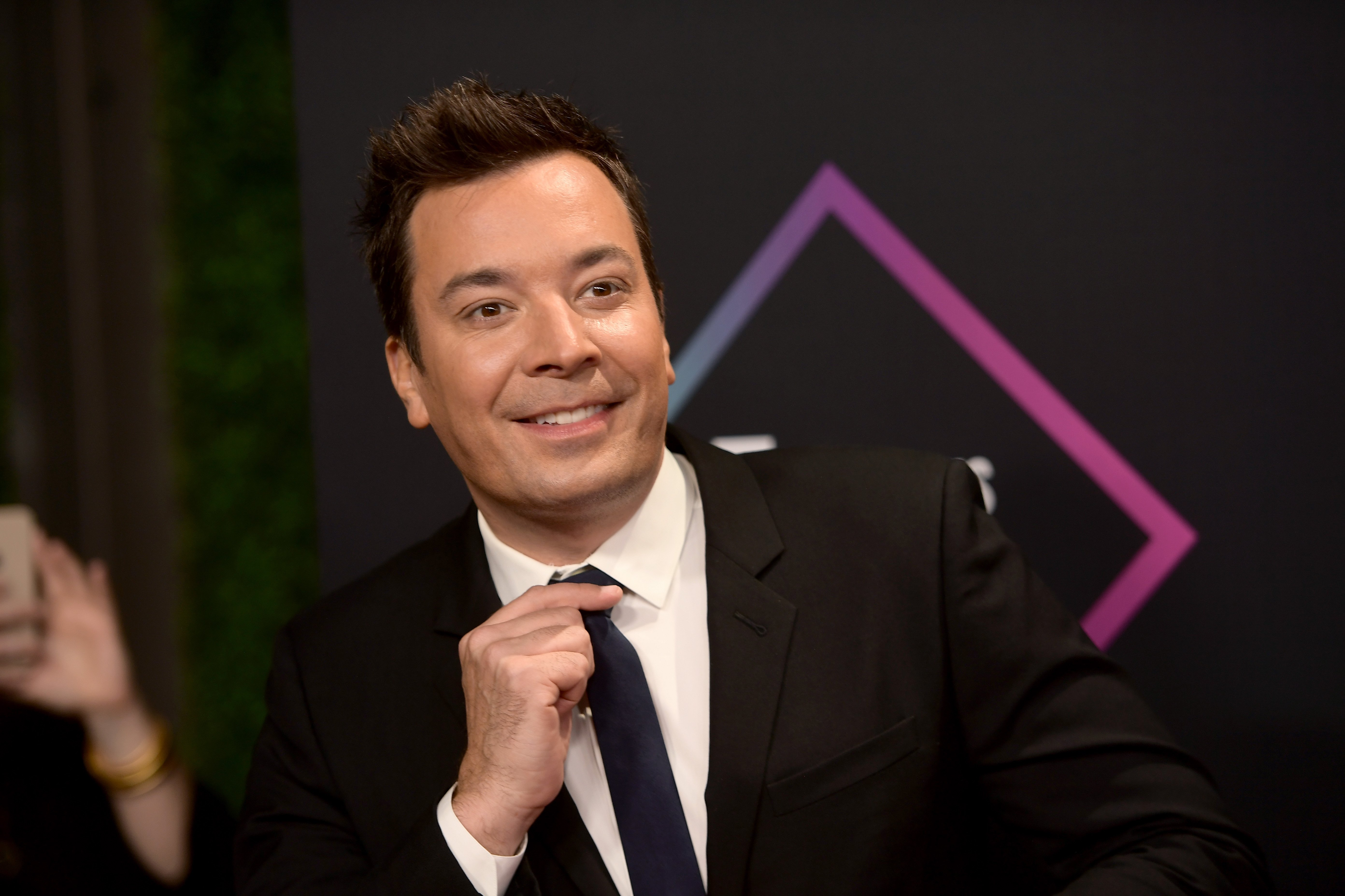 Jimmy Fallon attends the People's Choice Awards on November 11, 2018, in Santa Monica, California. | Source: Getty Images.