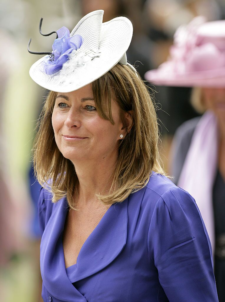 Carole Middleton, mother of Kate Middleton, attends day 5 of Royal Ascot at Ascot Racecourse on June 19, 2010 in Ascot, England | Photo: Getty Images