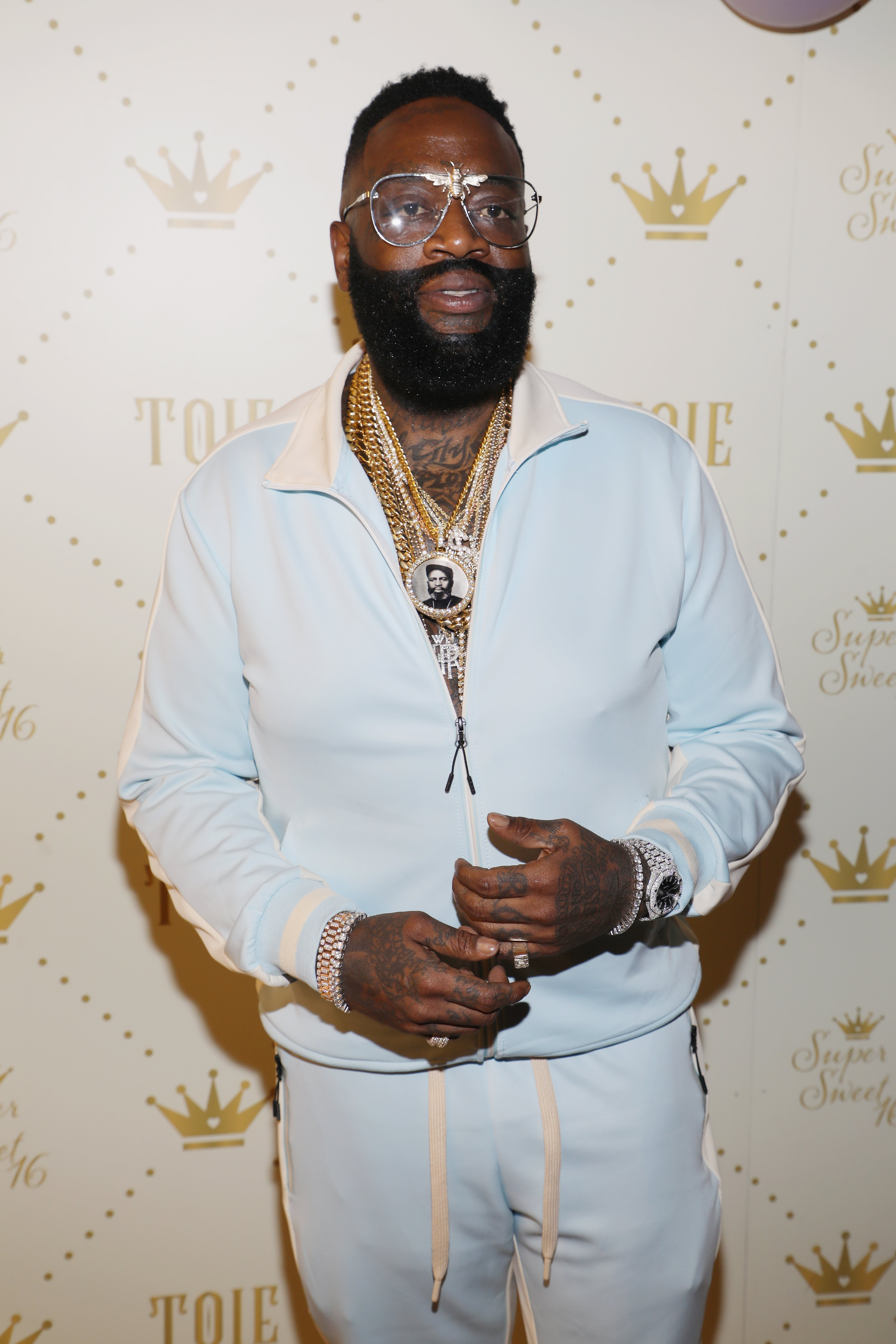Rick Ross at Toie's Royal Court: Super Sweet 16 on Apr. 7, 2018 in Miami, Florida | Photo: Getty Images