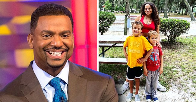 Alfonso Ribeiro's 3 Kids Show Their Likeness as They Pose Together in New Snap Amid Family Trip