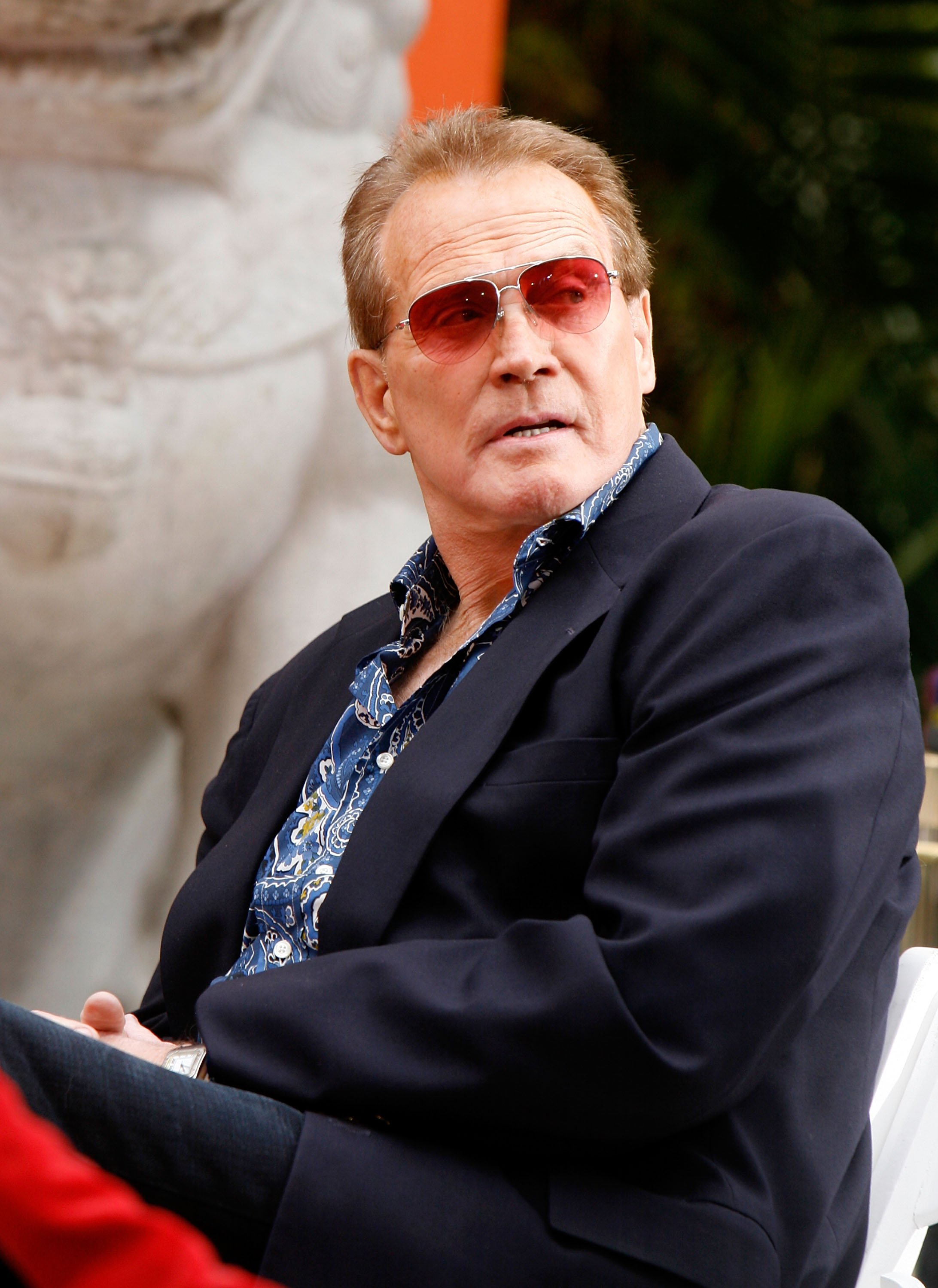 Lee Majors attends the Hand and Footprints Ceremony at Grauman's Chinese Theatre on June 5, 2007 | Photo: GettyImages