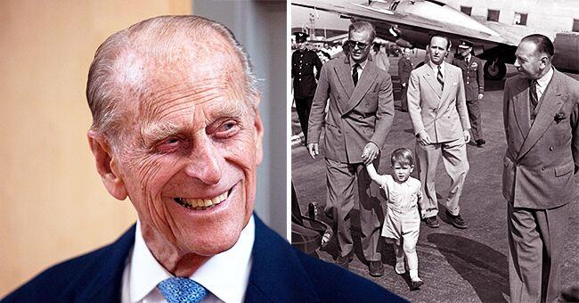 Charles, de 2 años, adorable en inusual foto publicada en el 98 cumpleaños del príncipe Philip