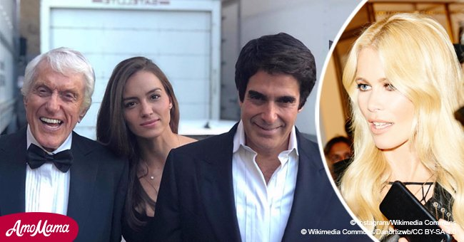 Here's how David Copperfield found his new love after his split from supermodel Claudia Schiffer