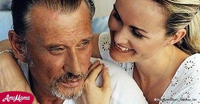 Les fans de Hallyday se rappellent le passé: ils partagent une photo encore jamais vue de Laeticia et Johnny