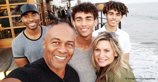 Remember R&B Legend Ray Parker Jr.? He & Wife of 25 Years Have Four Grown-Up Handsome Sons