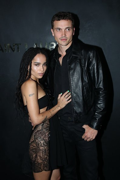 Zoe Kravitz and her companion actor Karl Glusman attend the Saint Laurent Womenswear Spring/Summer 2020 on September 24, 2019  | Photo: Getty Images