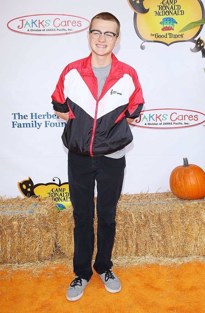 """Angus T. Jones arrives at Camp Ronald McDonald for Good Times """"20th Annual Halloween Carnival"""" held at Universal Studios Backlot on October 21, 2012 in Universal City, California.   Source: Getty Images"""