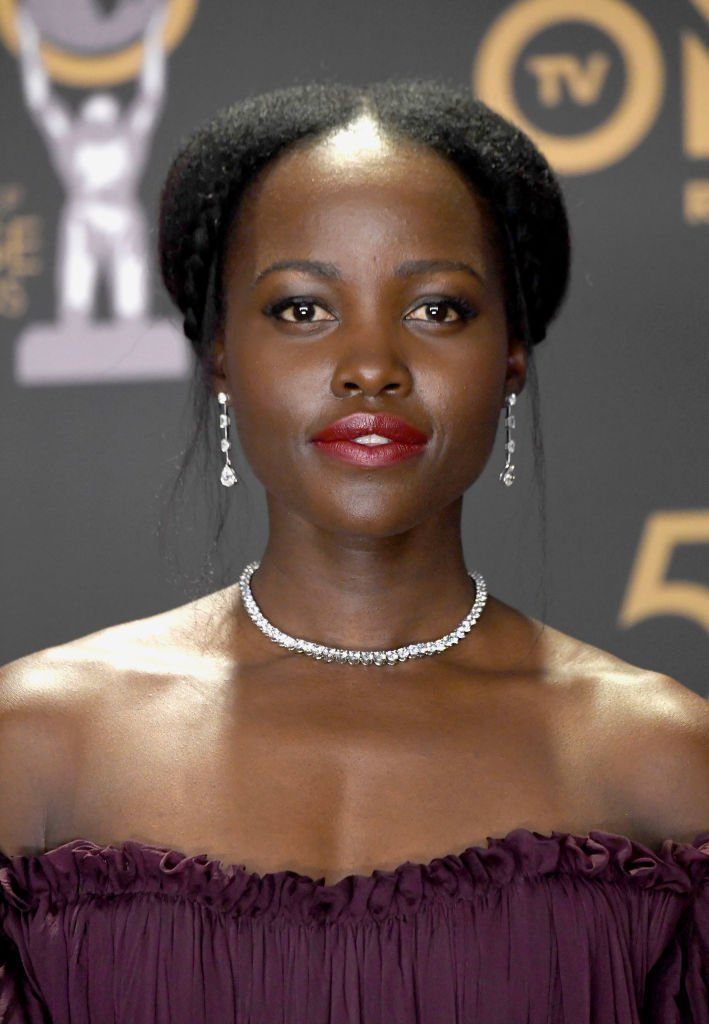 Lupita Nyong'o at the 50th NAACP Image Awards at Dolby Theatre on ‎March 30, 2019. | Photo: Getty Images