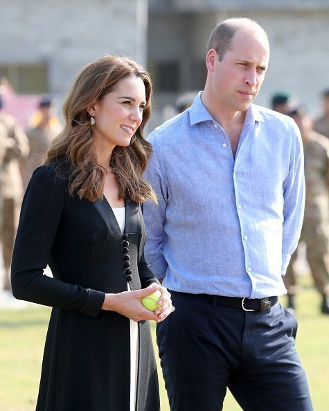 Kate Middleton and Prince William during day five of their royal tour of Pakistan on October 18, 2019 in Islamabad, Pakistan. | Photo: Getty Images