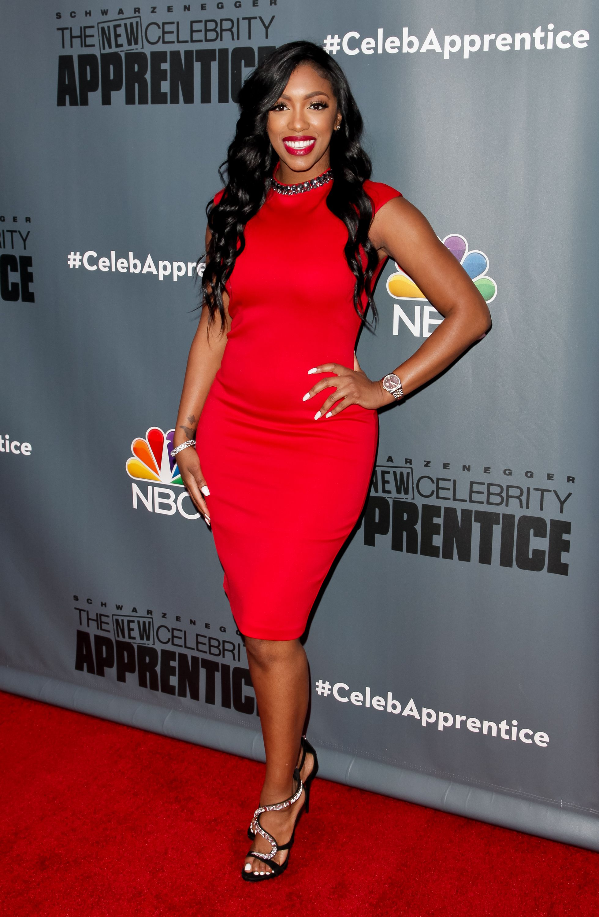 Porsha Williams attends the Q&A for NBC's 'The New Celebrity Apprentice' at NBC Universal Lot on December 9, 2016 in Universal City, California. | Source: Getty Images