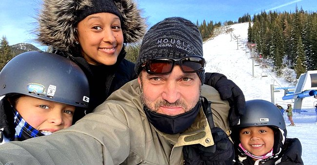 How Tamera Mowry & Her Husband Adam Welcomed the New Year with Their Kids — See Their Ski Trip