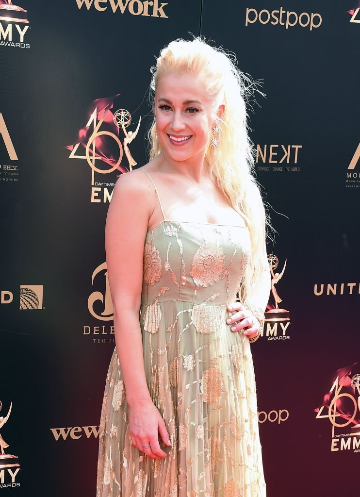 Kellie Pickler attends the 46th annual Daytime Emmy Awards at Pasadena Civic Center   Getty Images