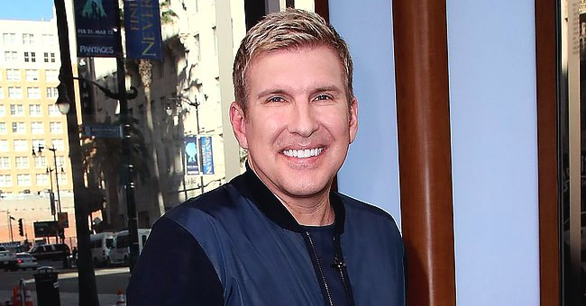 Todd Chrisley Says Granddaughter Chloe Always Gets One over Him with a Funny Swimming Video