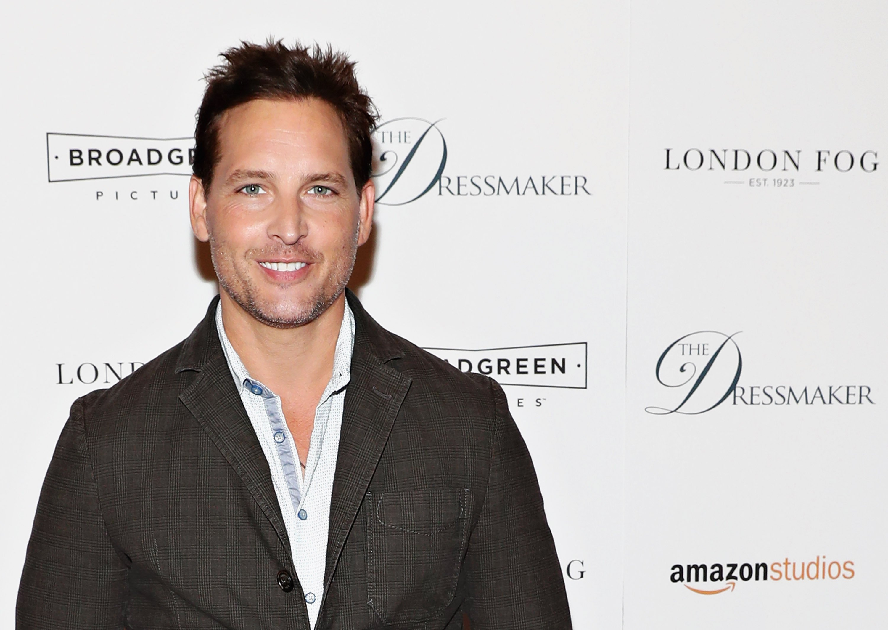 "Actor Peter Facinelli attends the 2016 screening of ""The Dressmaker"" in New York City. 