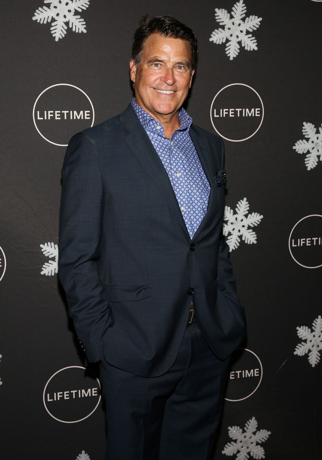 """Ted McGinley at the """"It's A Wonderful Lifetime"""" Holiday Party in Los Angeles in, 2019 