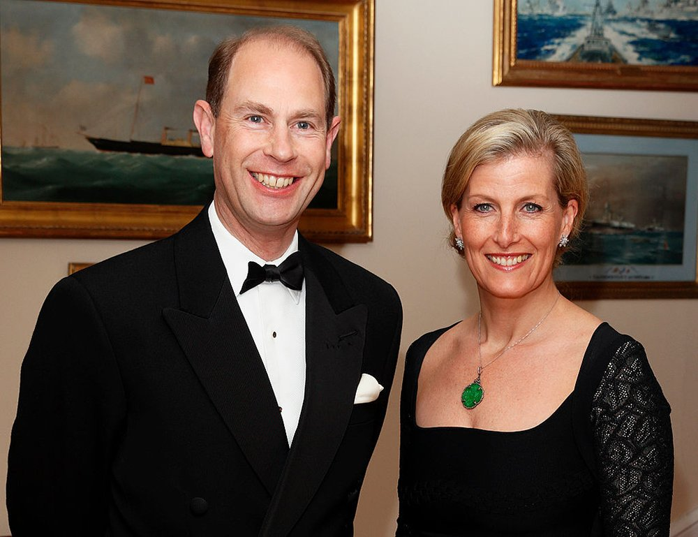 The Earl and Countess of Wessex. I Image: Getty Images.