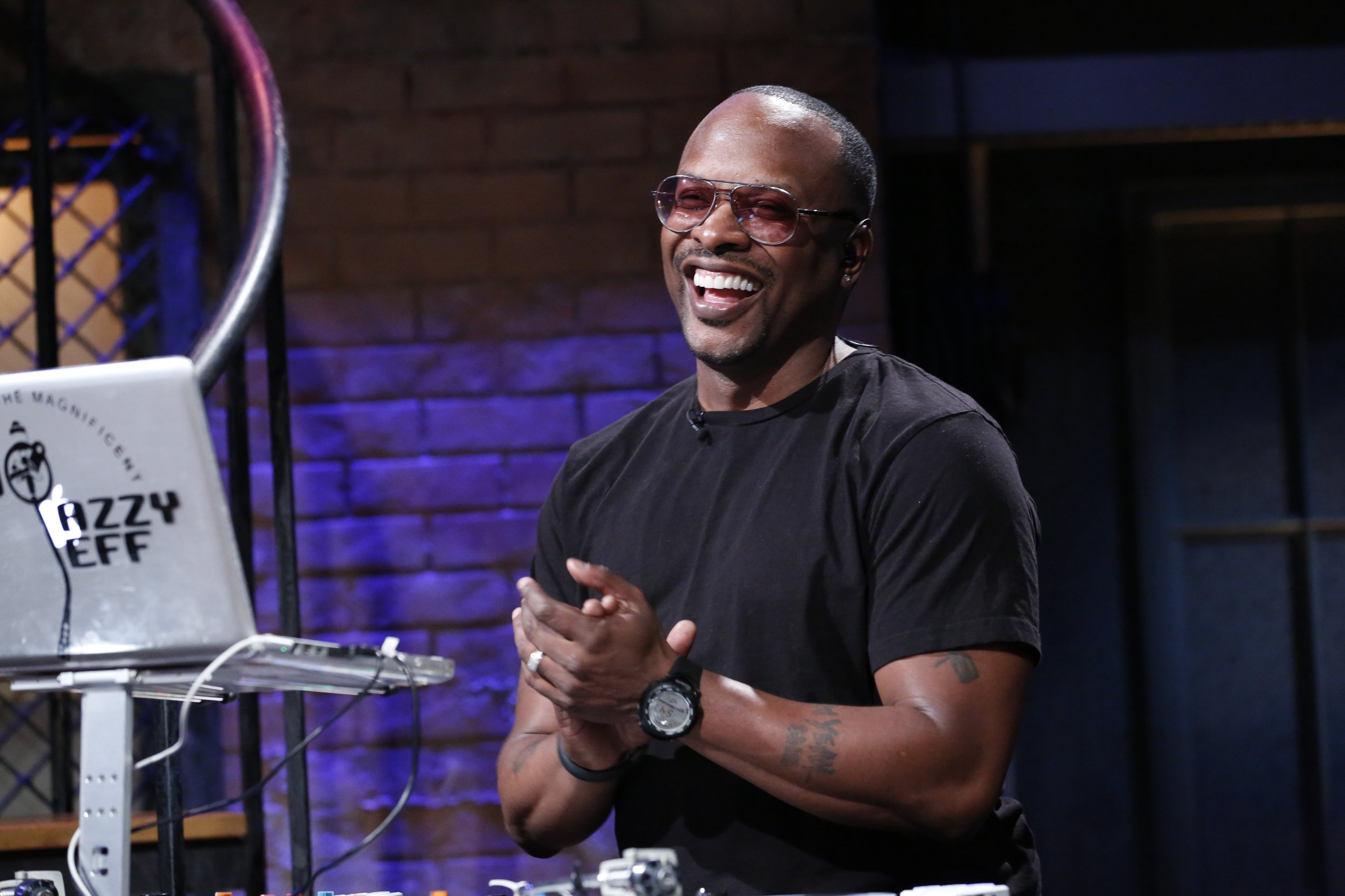 LATE NIGHT WITH JIMMY FALLON -- Episode 809 -- Pictured: DJ Jazzy Jeff on April 1, 2013 | Photo: GettyImages