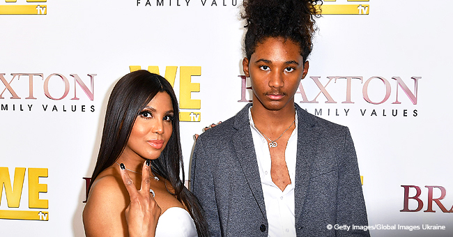 Toni Braxton Poses on Red Carpet with Son Who Was Born with Autism and Is Now a Signed Model