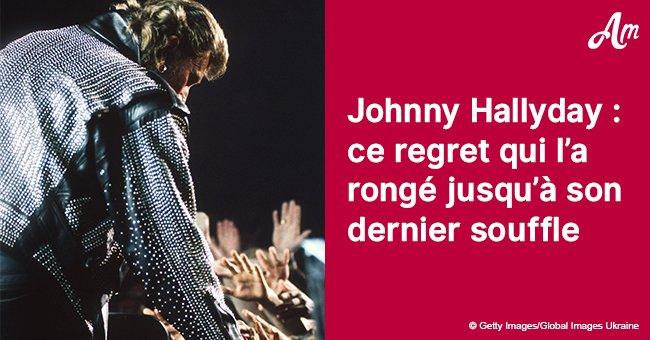 Le grand regret de Johnny Hallyday à propos de l'un de ses proches
