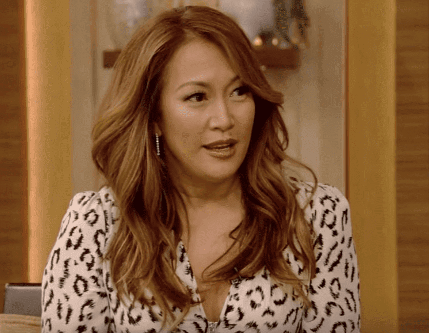 "Carrie Ann Inaba during an episode of ""Live with Kelly and Ryan."" 